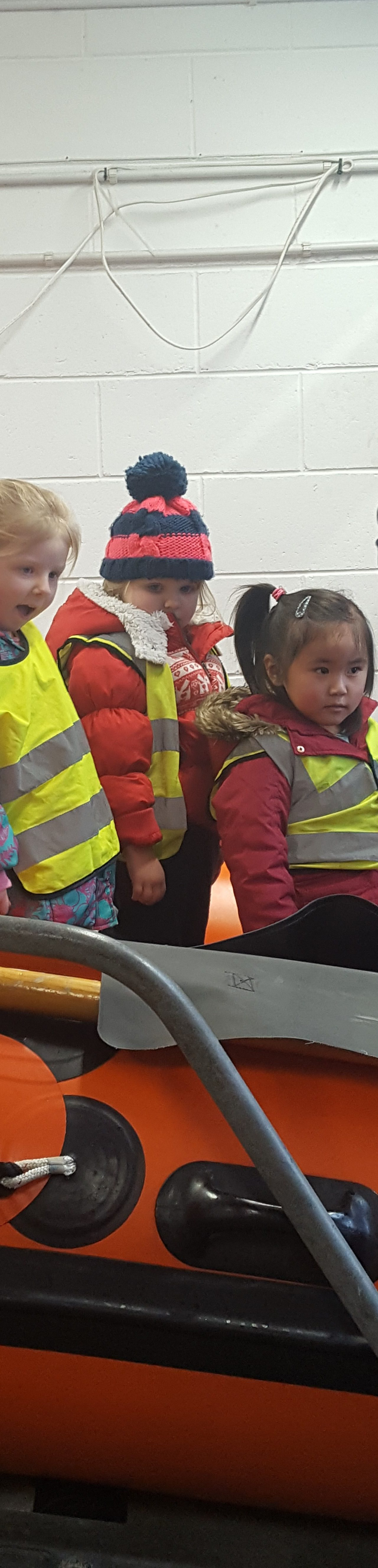Coral Class visit Newquay Lifeboat Station February 2018